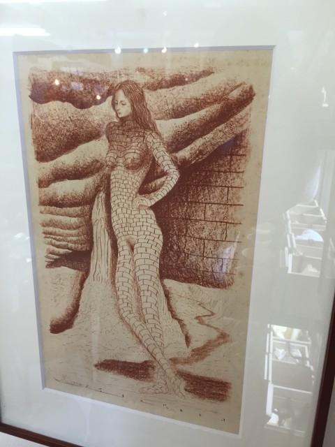 司修銅版画