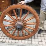 チーク車輪1