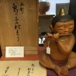 小林愚童木彫人形1