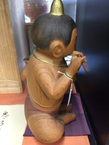 小林愚童木彫人形6