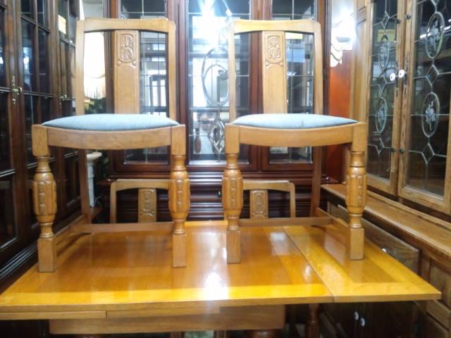 アンティークスライドリーフテーブル2