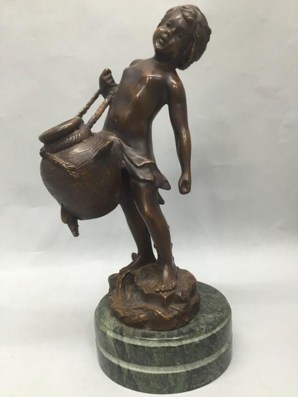 auguste-moreau-bronz-statue