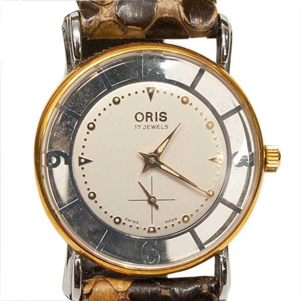 オリス スケルトン 腕時計
