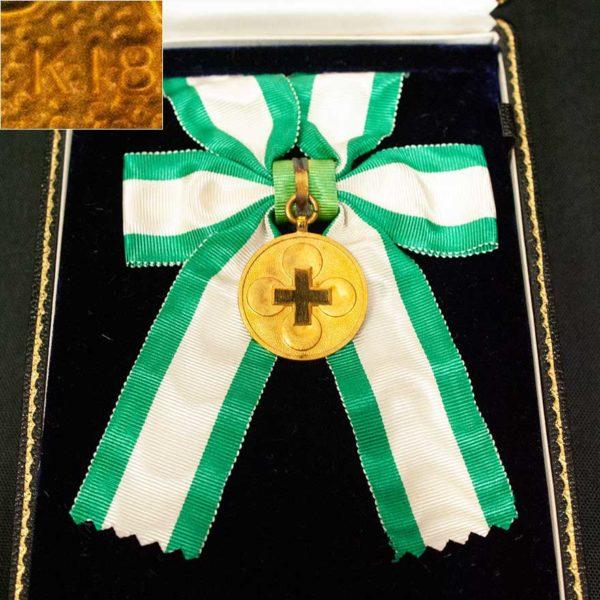 記念メダルK18