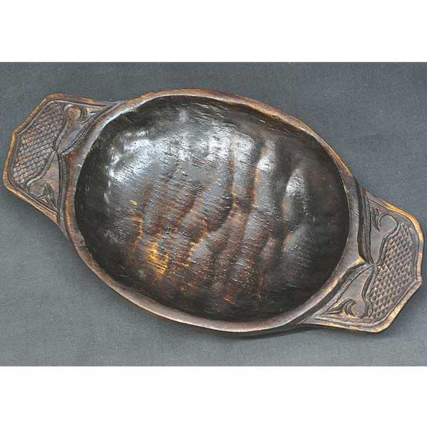 アイヌ民族 刳り鉢 ニマ 2