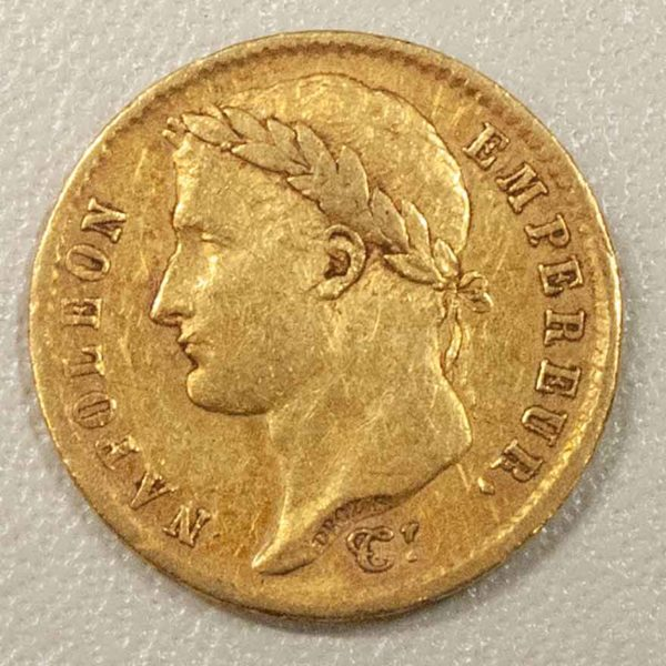 ナポレオン・ボナパルト 20フラン金貨