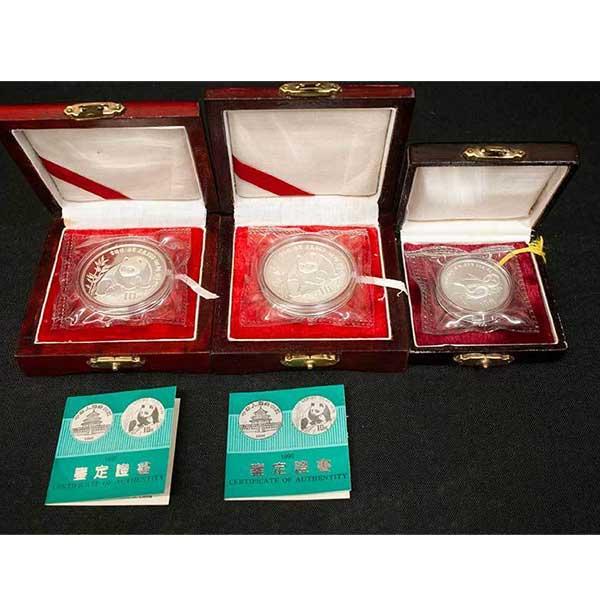 中華人民共和国-1990年-10元-パンダ