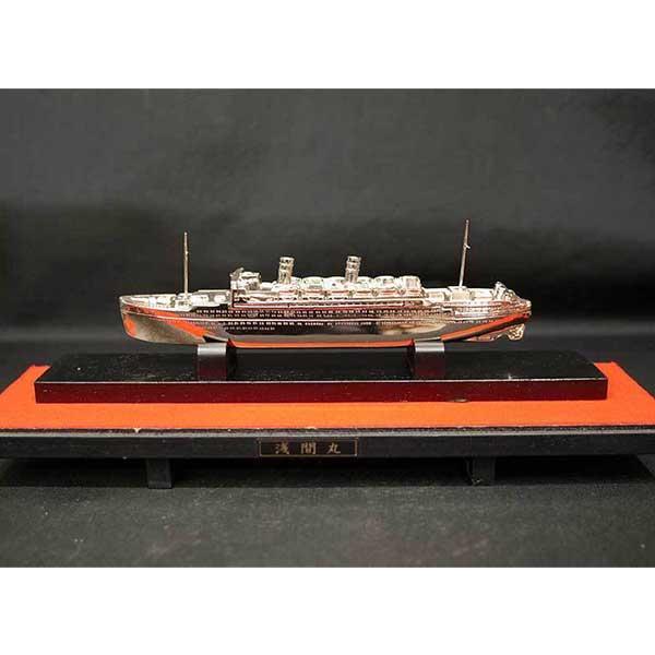 日本郵船-浅間丸-金属模型