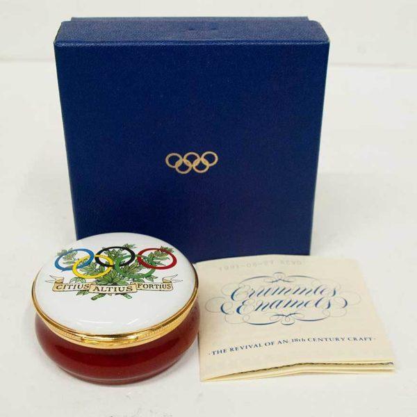 オリンピック委員会 エナメルボックス