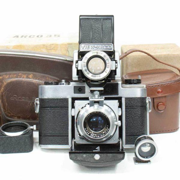 Arco35 蛇腹カメラVIEW-ARCO