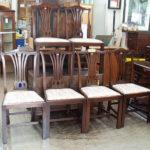 英国アンティーク椅子六脚
