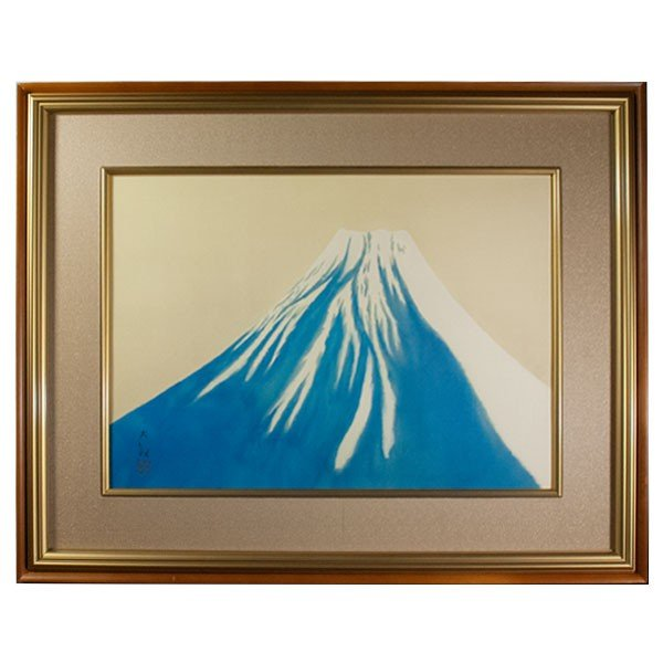 横山大観 「秋の富士」 工芸画
