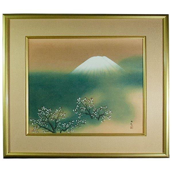 横山大観 「霊峰富士」 工芸画