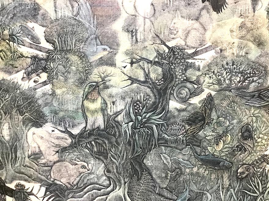小林敬生 木口木版画