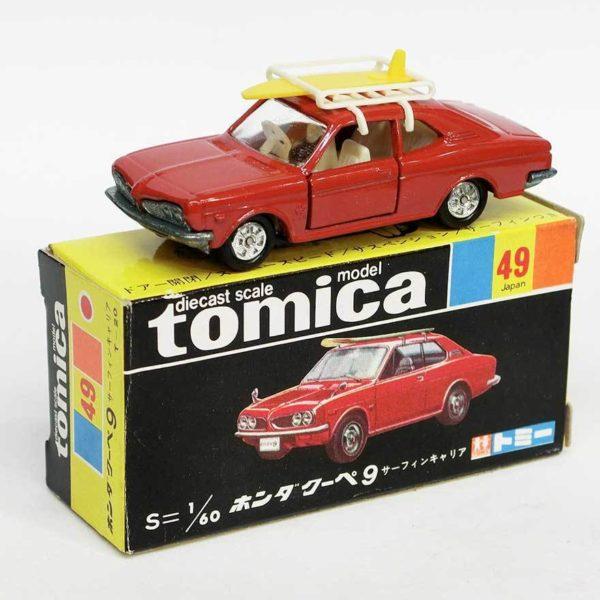 トミカ 黒箱 49 ホンダ クーペ 9