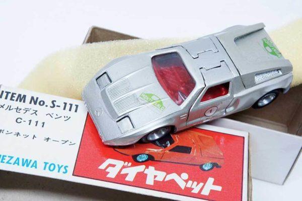 ミニカー ダイヤペット インター ヨネザワトーイ