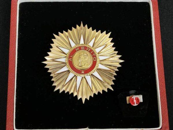 アルゼンチン共和国功労勲章 徽章