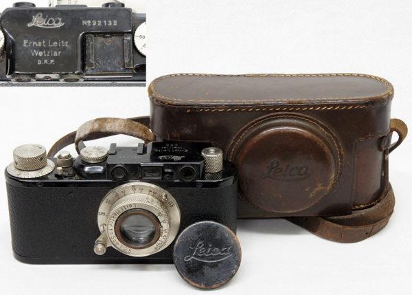 ライカのカメラ バルナック DⅡ