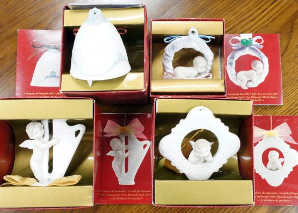 リヤドロのクリスマスベルと天使たち