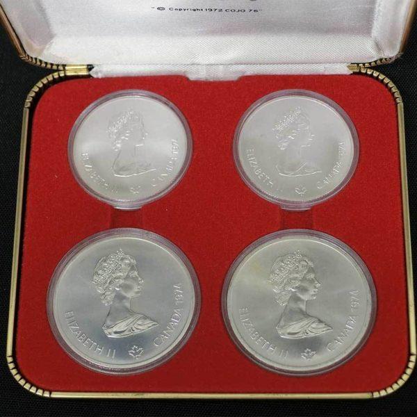 カナダ モントリオールオリンピック記念銀貨