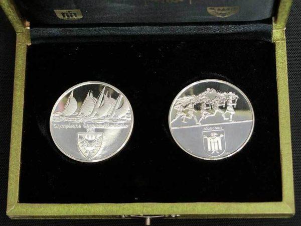 第20回ミュンヘンオリンピック大会 公式記念メダル