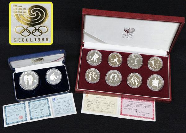 オリンピック 1988年韓国ソウル大会 記念コイン