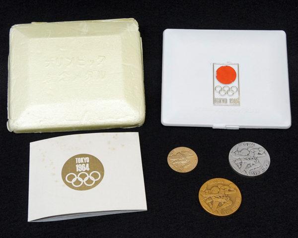 オリンピック1964年東京大会記念メダル金銀銅セット