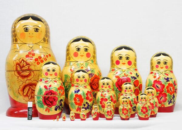 特大多層マトリョーシカ人形 (41cm 18pcs)