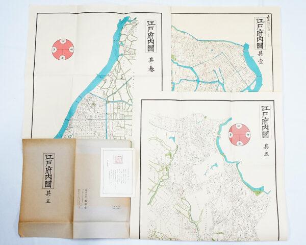 復刻江戸古地図