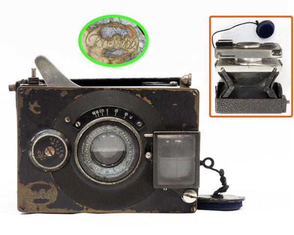 蛇腹カメラ クラップカメラ Ica Bebe