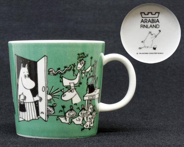 Arabia マグカップ ムーミン