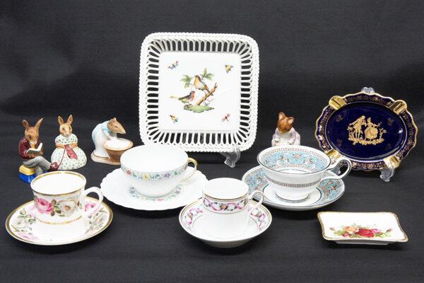 西洋陶磁器各種買取