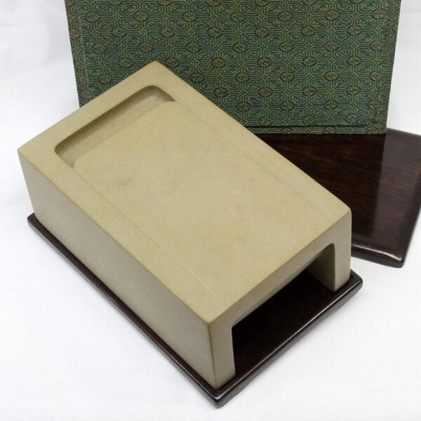 緑石太子硯