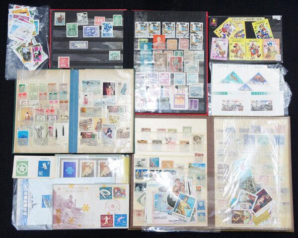 万国・世界の使用済切手コレクション